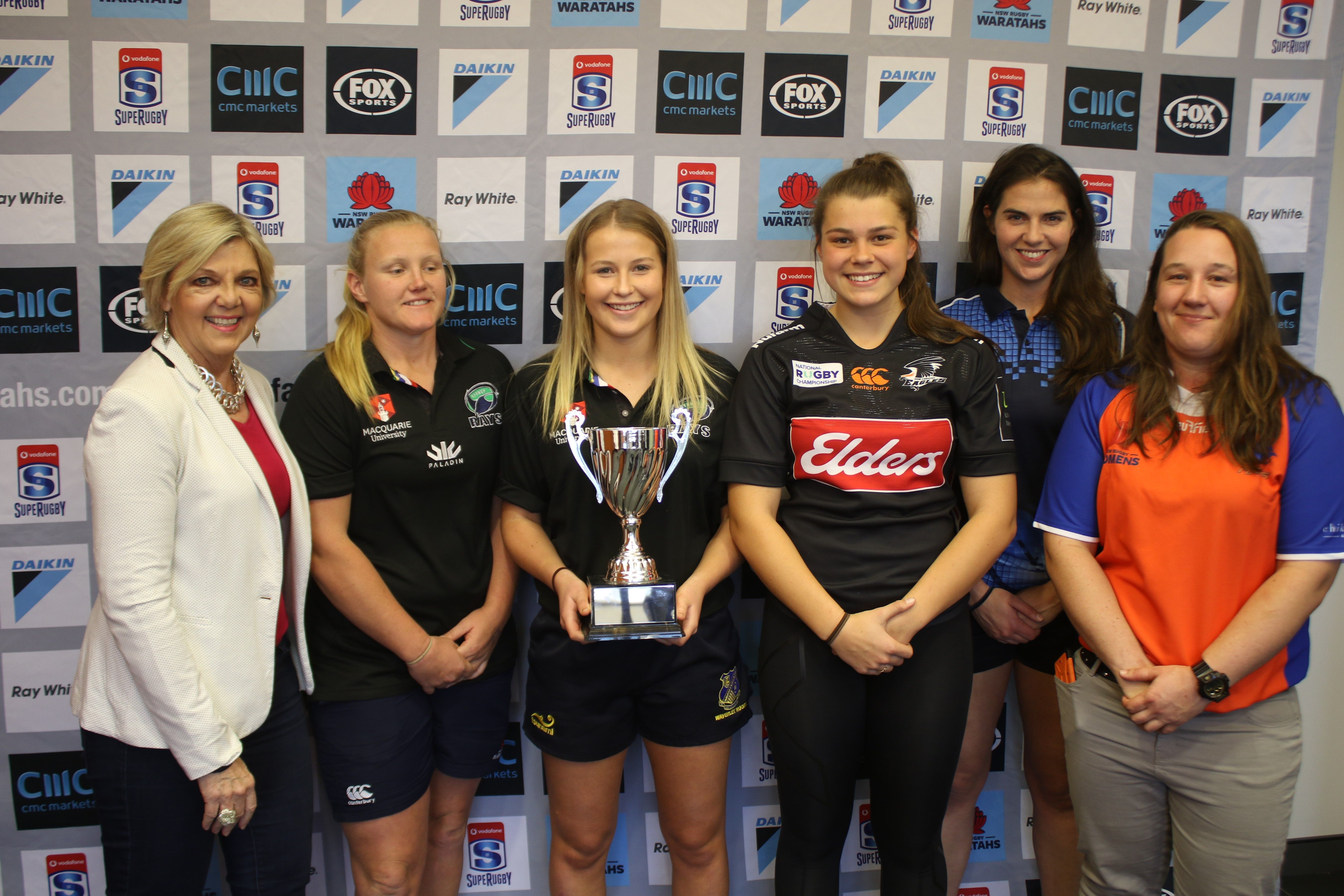 NSW WOMEN'S NRC TEAMS COMPETING FOR THE CHIKAROVSKI CUP